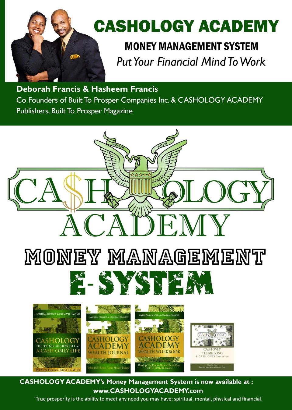 CASHOLOGY MONEY SYSTEM 1