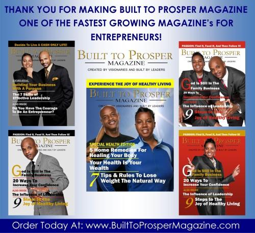 Built To Prosper Magazine